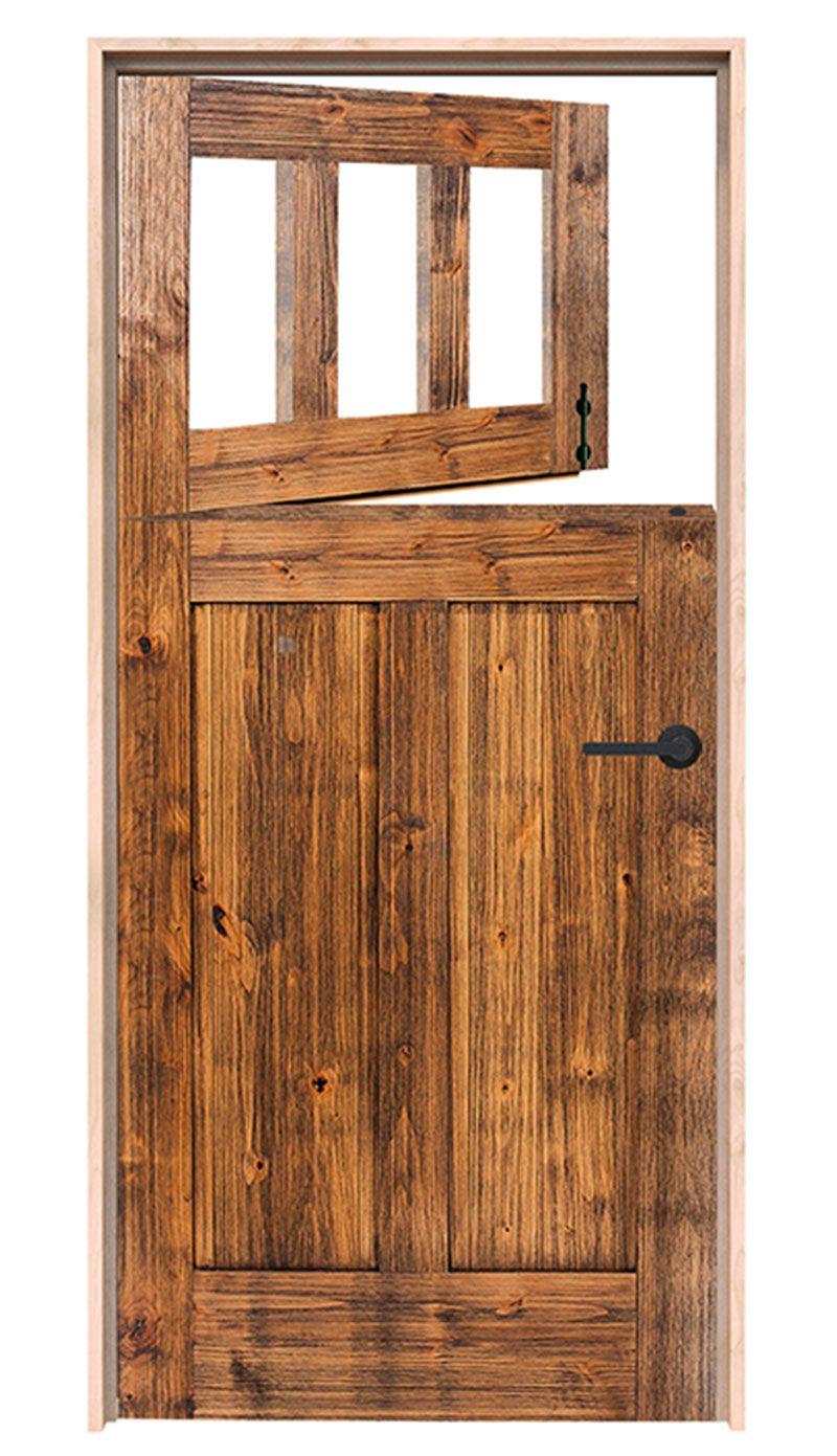 Washhouse Exterior Dutch Door