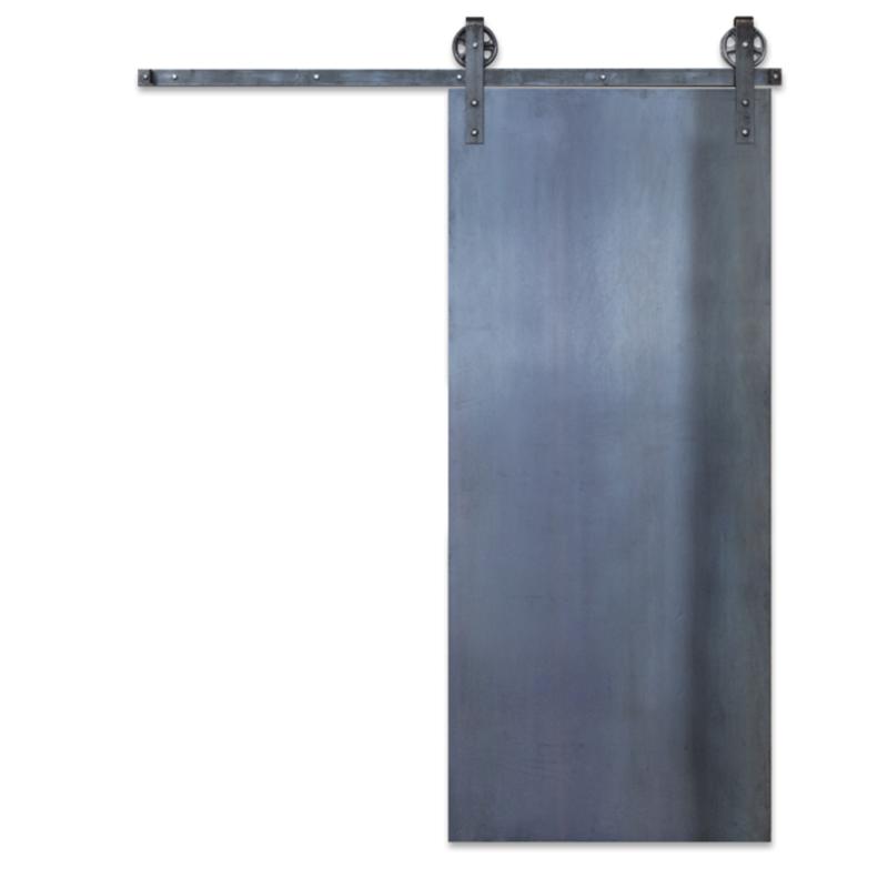 Industrial Panel Barn Door