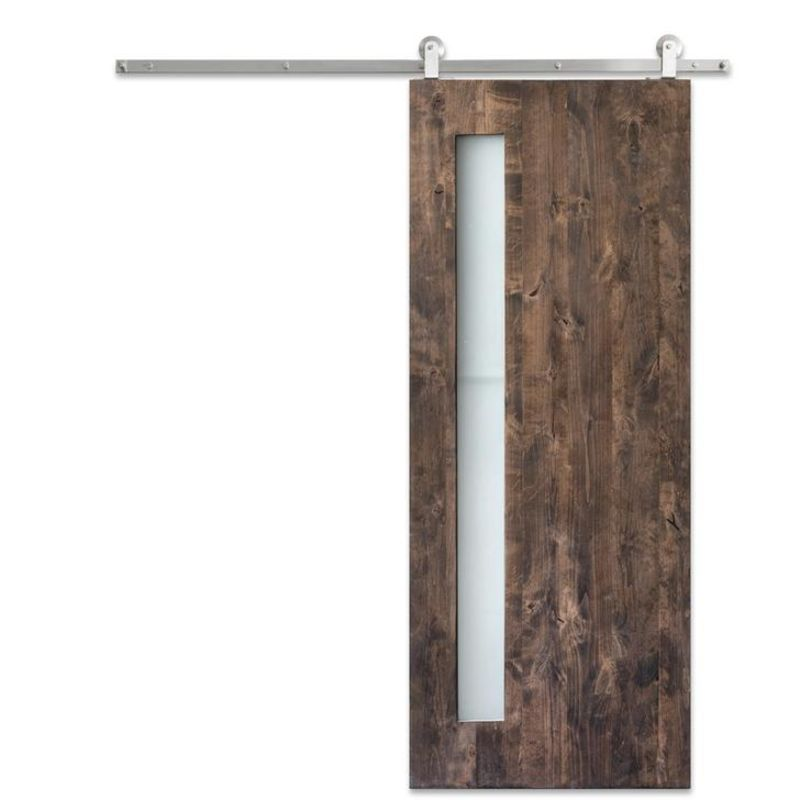 Midcentury Panel Barn Door