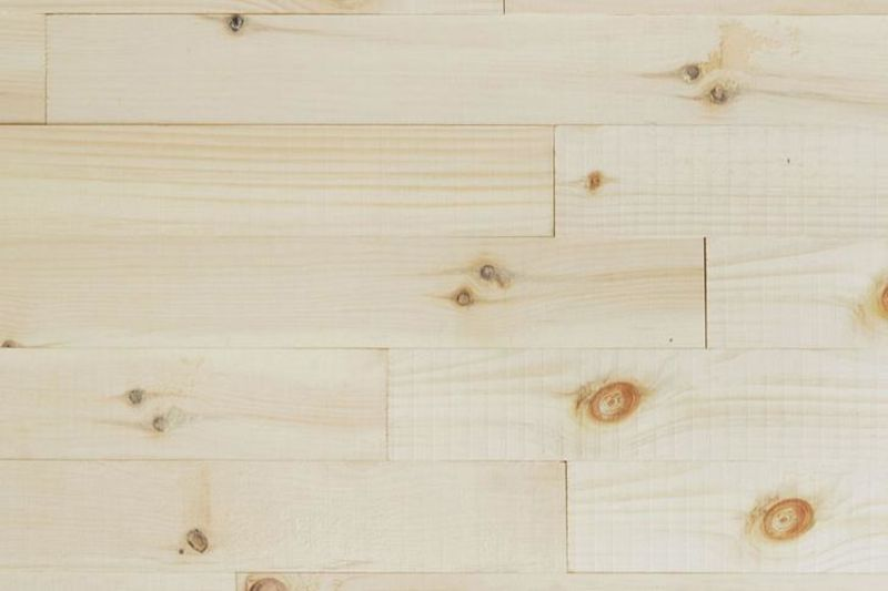 Raw Pine Wood Wall Panels