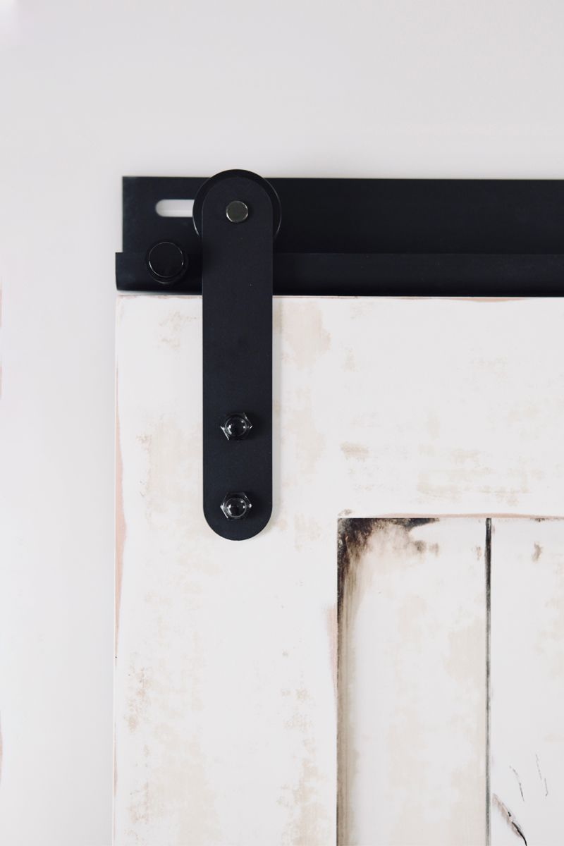Low Clearance Barn Door Hardware