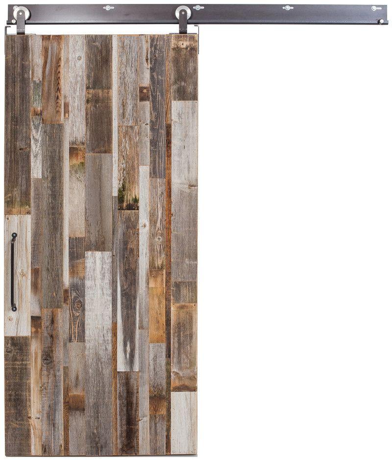 Vertical Barn Wood Reclaimed Barn Door