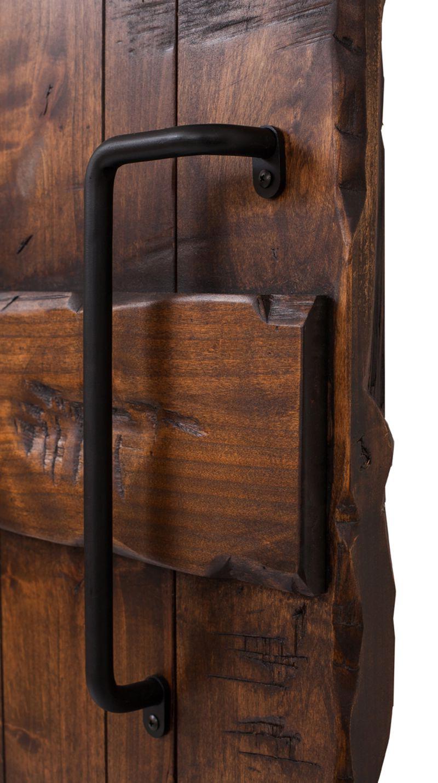 Right Angled Iron Barn Door Pull