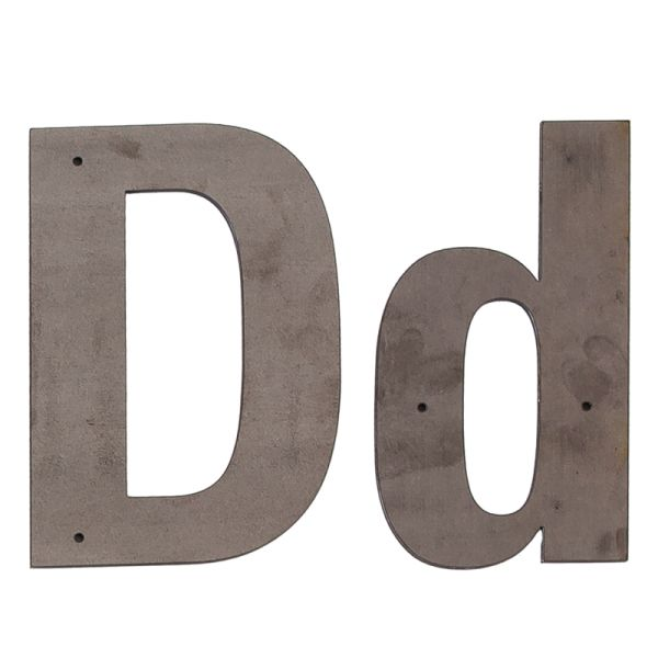 D Outdoor Letter
