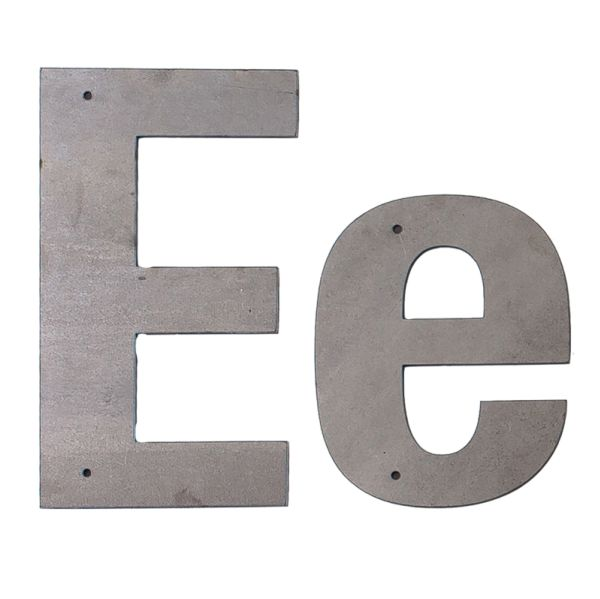 E Outdoor Letter