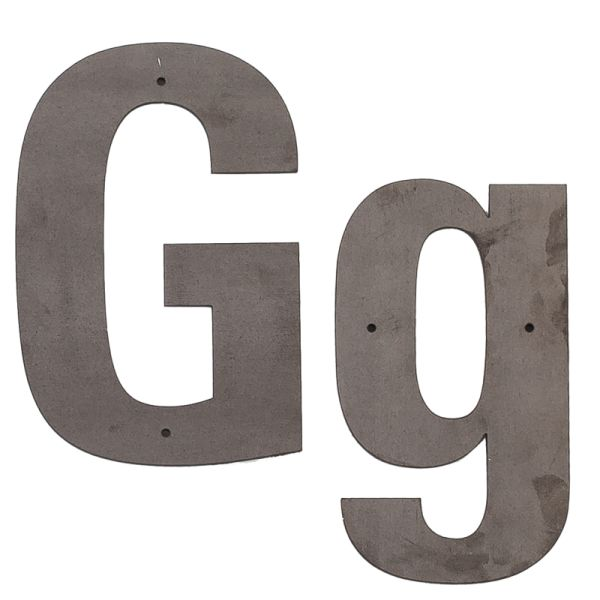 G Outdoor Letter