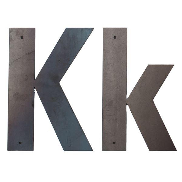 K Outdoor Letter