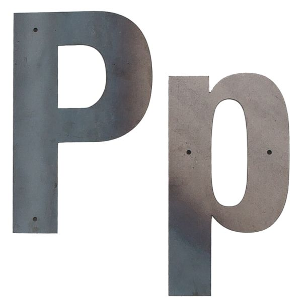 P Outdoor Letter