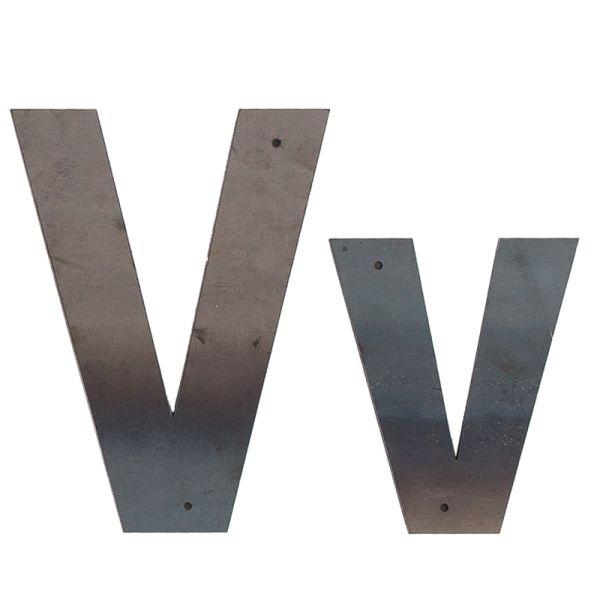 V Outdoor Letter