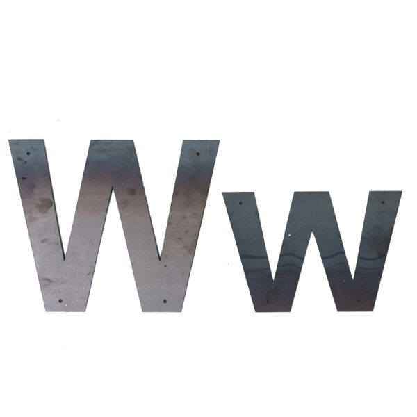 W Outdoor Letter