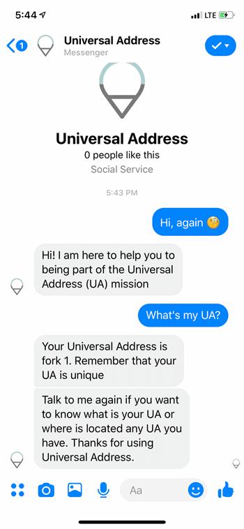 Get UA again