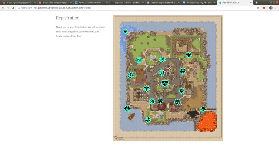 AskCo19 Island Map
