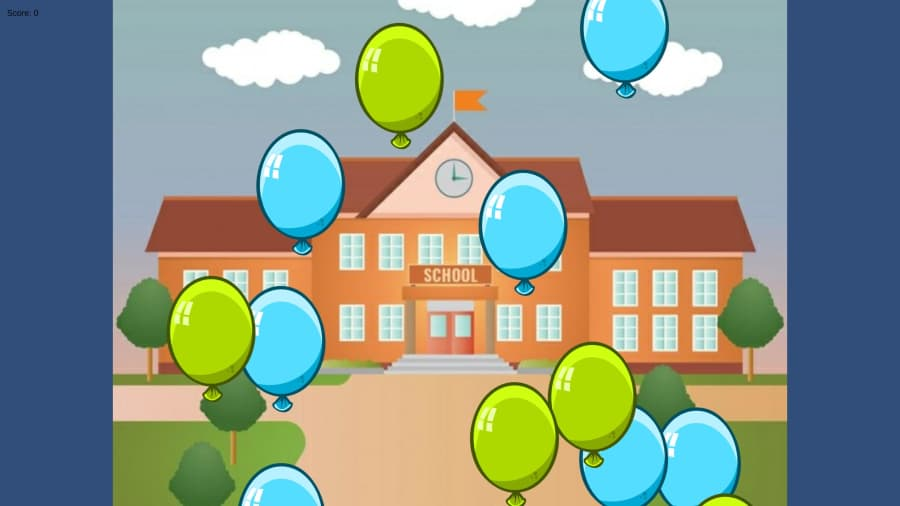 Balloon Pop Example