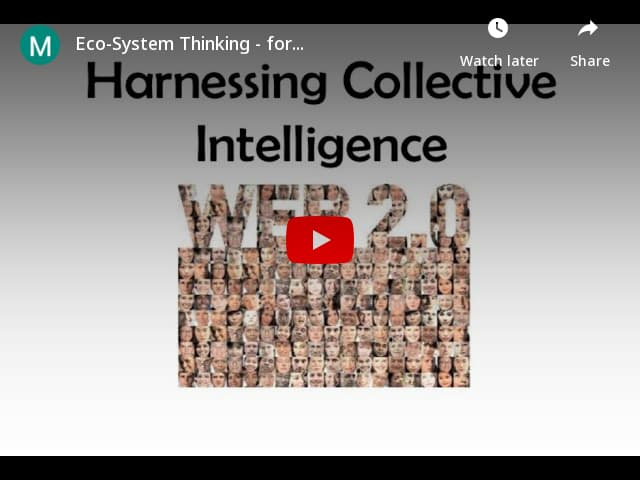 Eco-System Thinking - for ALL OF US