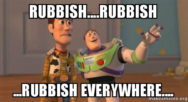 Rubbish talk