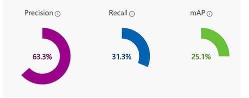 CustomVision Prediction Results