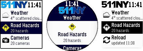 Main menu - Road Hazards