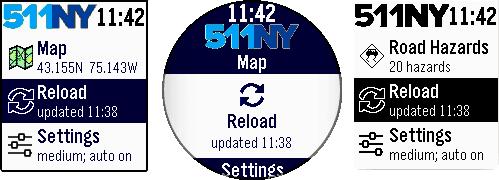 Main menu - Reload