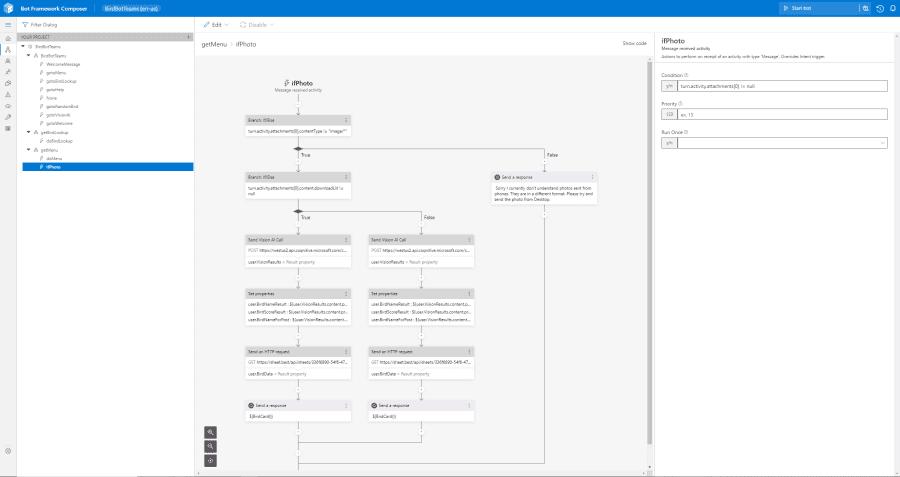 Microsoft Composer - BirdBot