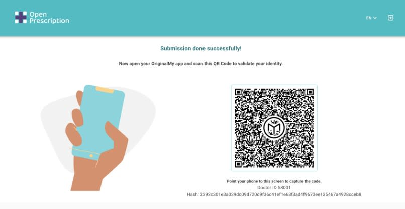 Scan with Blockchain ID