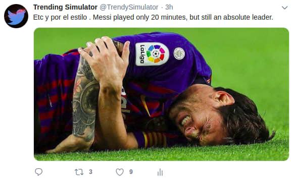 Messi oof