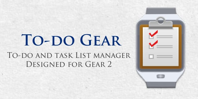 To-Do Gear