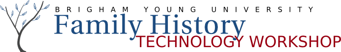Family History Technology Workshop