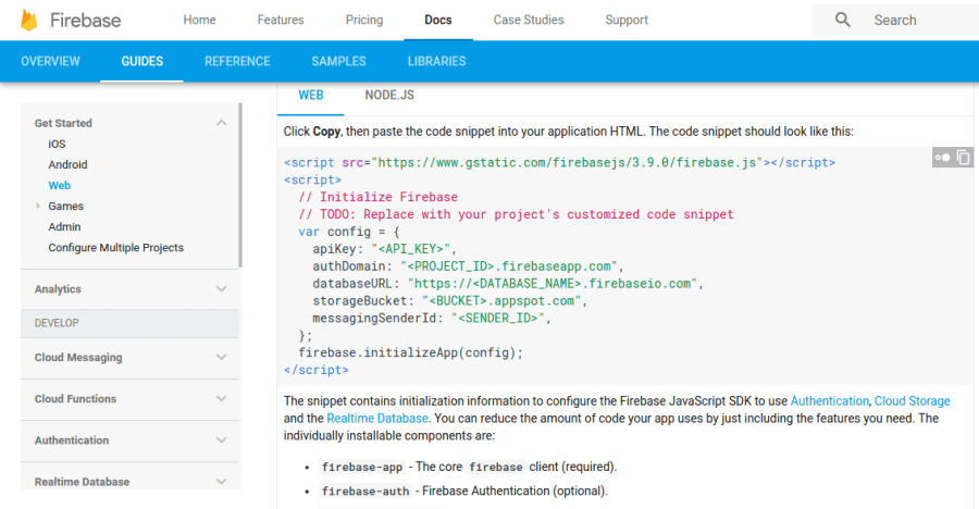 firebase_Documentation
