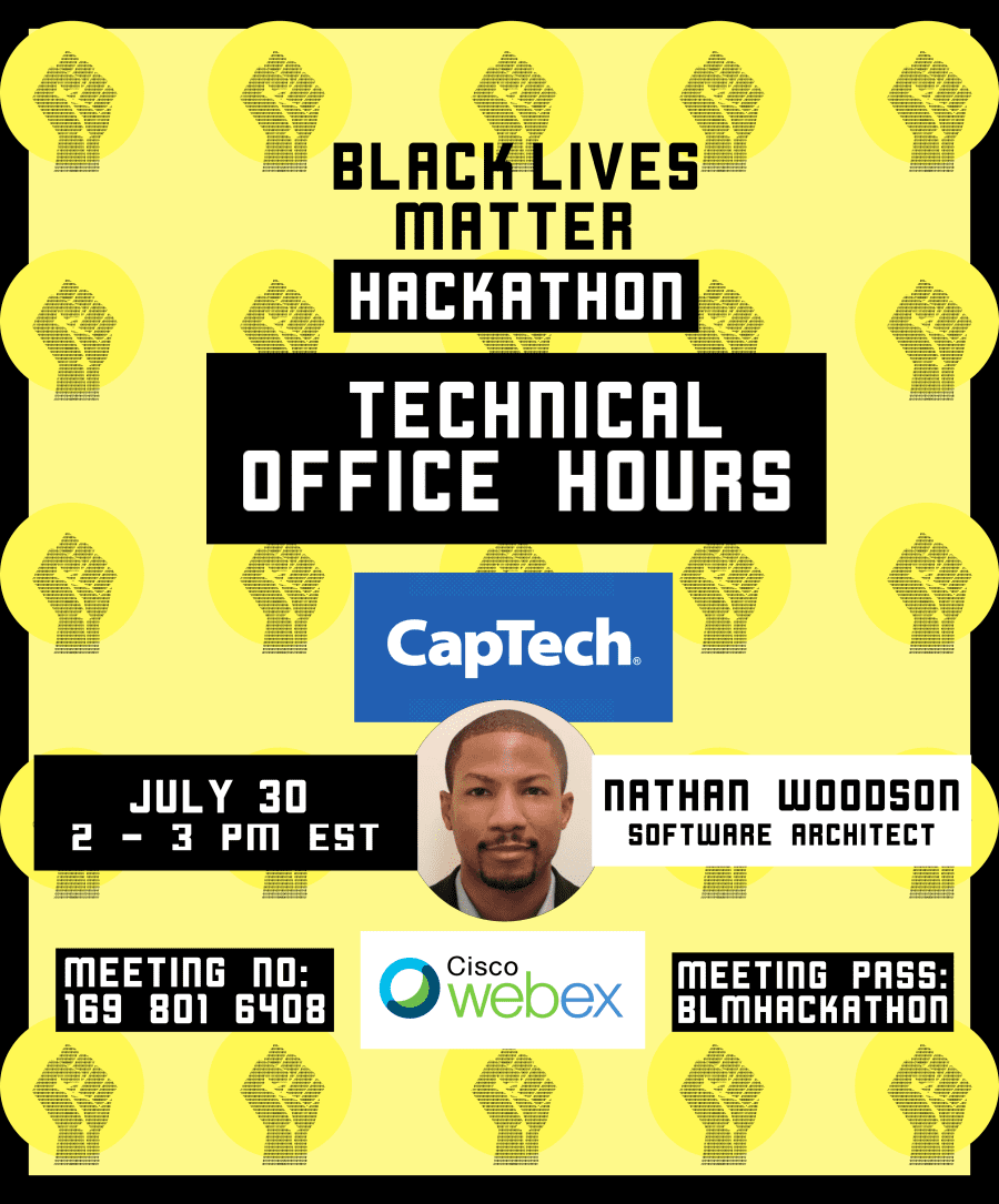 Nathan Woodson Office Hours