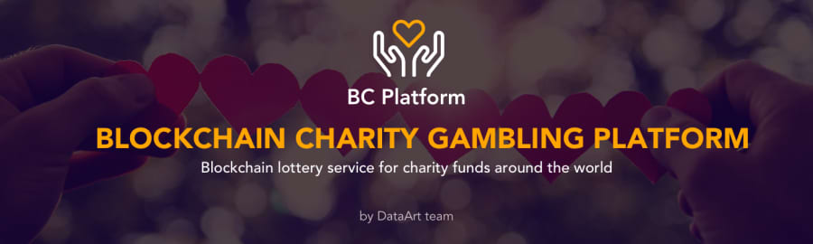 Charity lottery service