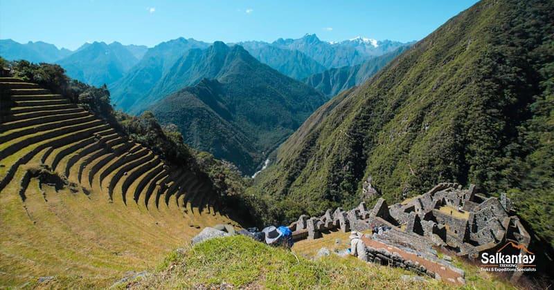 Inca Trail To Machu Picchu Wiñayhuayna