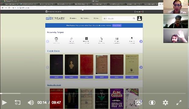 Open Library Docker Tutorial