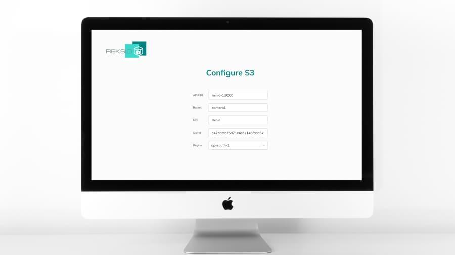 Reksio Config Page