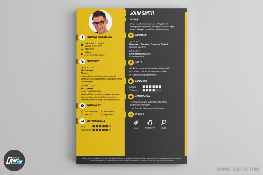 creative online resume builder