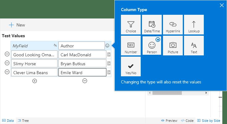 Change Column Type
