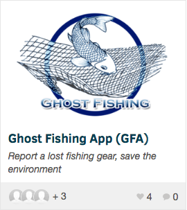 Ghost Fishing App