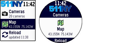 Main menu - Map