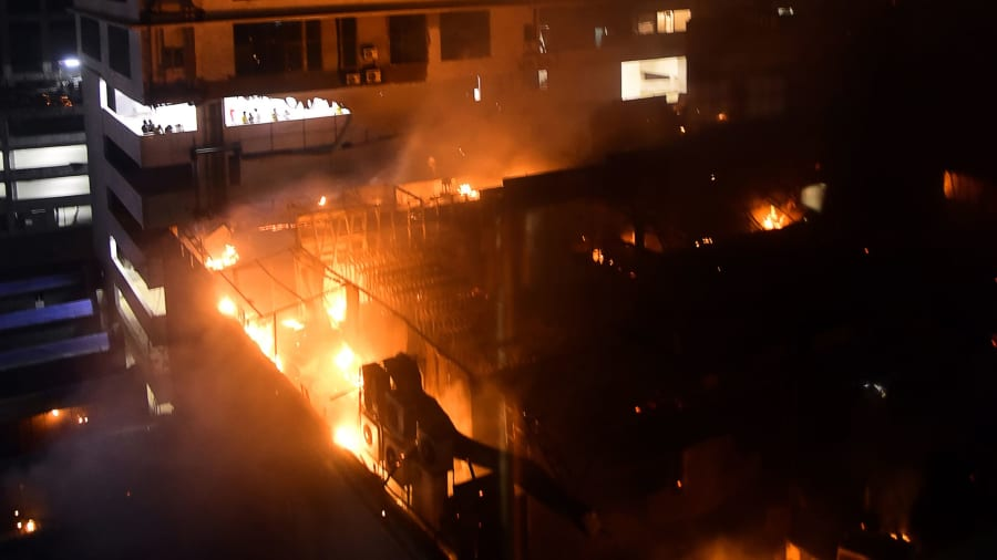 Mumbai restaurant fire