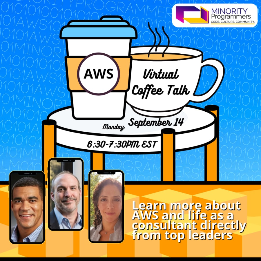 Amazon Web Services Virtual Coffee Chat