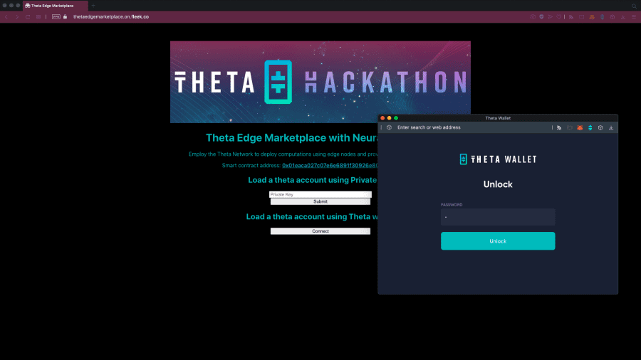 Using Theta Wallet Connect