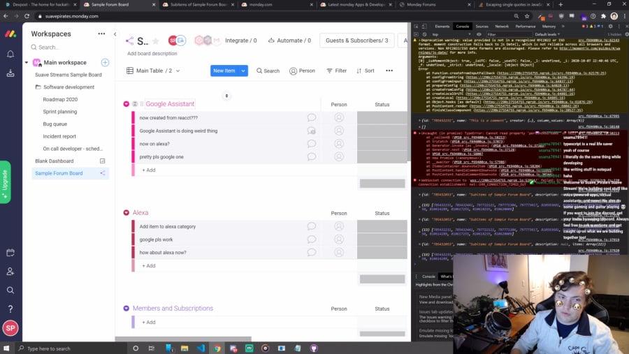 twitch screen