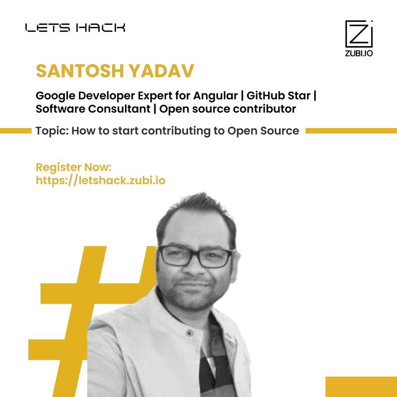 How to start contributing to Open Source - Santosh Yadav