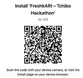 FreshkARt QR Code
