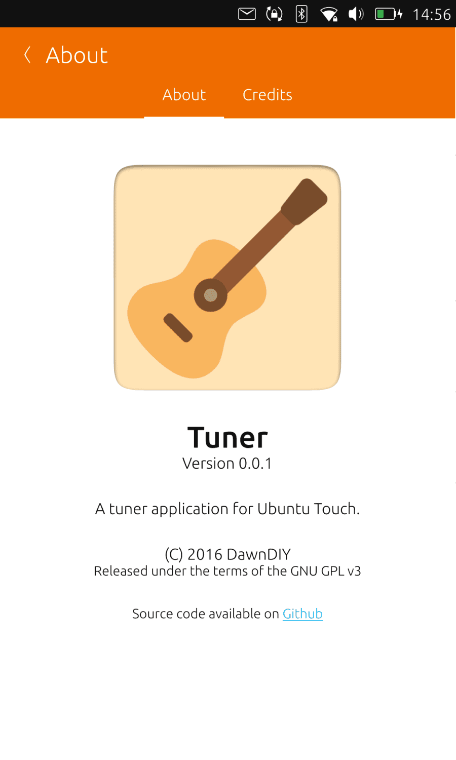 Tuner for Ubuntu Touch