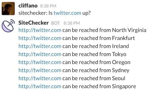 Sample Interaction Screenshot