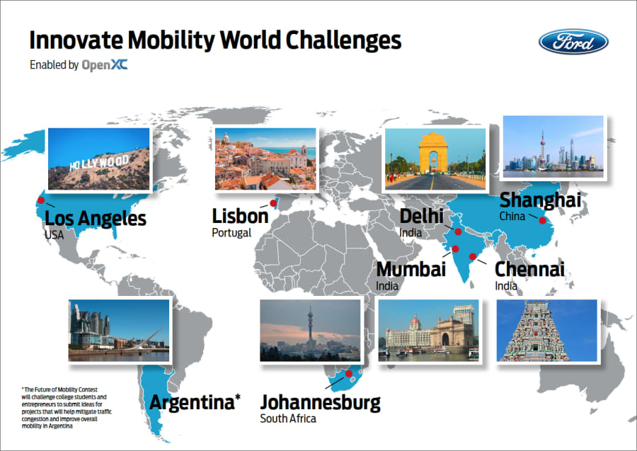Ford's Innovate Mobility Series