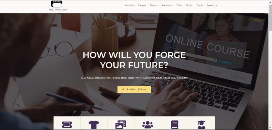 amino_cg website