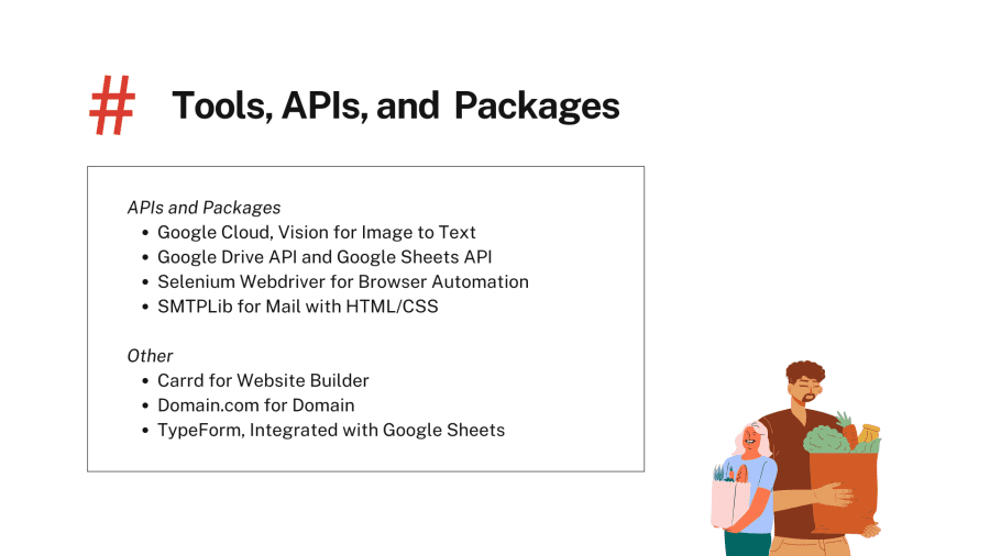 Tools, APIs, and Packages