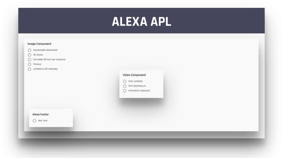 Alt Alexa APL