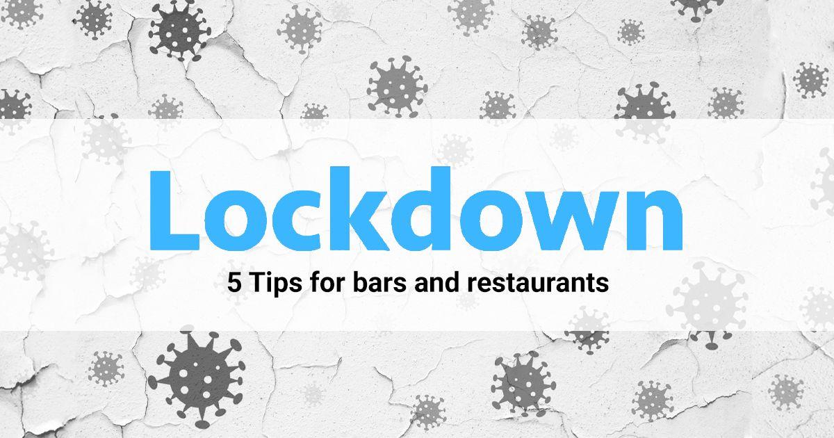 hospitality lockdown tips